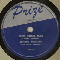 Cover Johnny Williams [John Lee Hooker] - Miss Rosie Mae